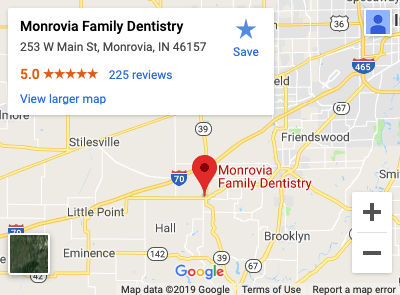 Monrovia Family Dentistry Map